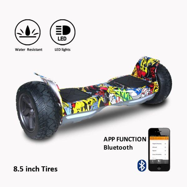 Gyropode Offroad Bluetooth Cool&Fun