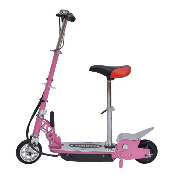Trottinette électrique Homcom enfant rose